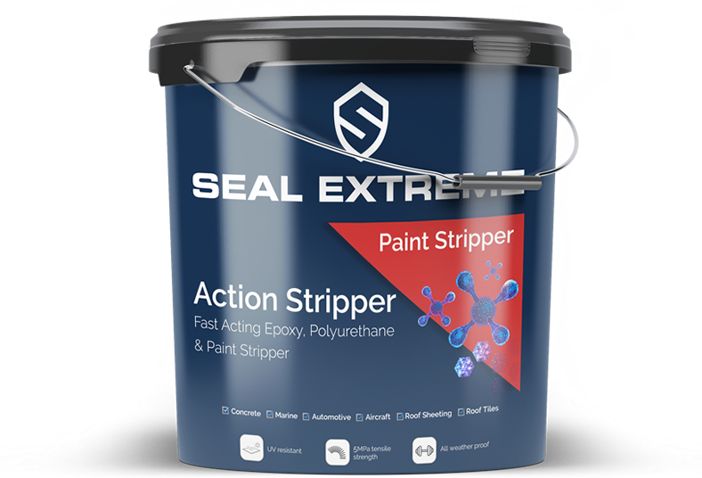 ActionStripper - Fast acting stripper for epoxy, polyurethane and paint.